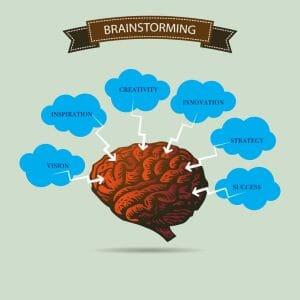 Creative thinking using mind maps